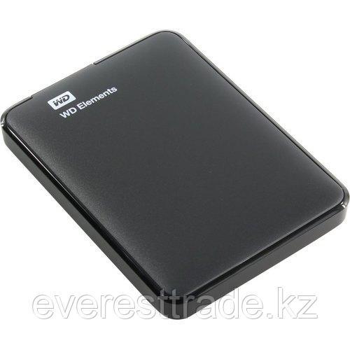 Western Digital (WD) Жесткий диск внешний 2,5 1TB WD Elements Portable WDBUZG0010BBK-WESN USB 3.0 Черный