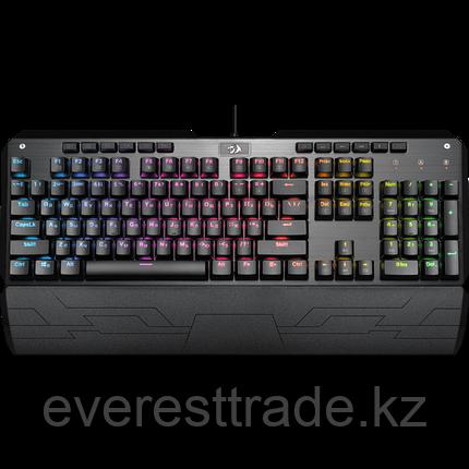 Redragon Клавиатура проводная Redragon Indrah (Черный), USB, ENG/RU, фото 2