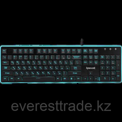 Redragon Клавиатура проводная Redragon Dyaus  (Черный), USB, ENG/RU, 7 цветов подсветки, фото 2