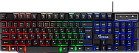 Defender Клавиатура проводная Defender Gorda GK-210L, ENG/RUS, USB, RGB подсветка