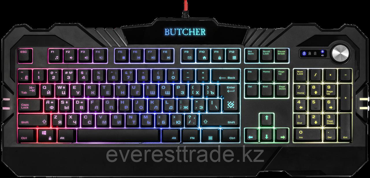 Defender Клавиатура проводная Defender Butcher GK-193DL ENG/RUS
