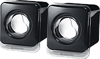 Defender Колонки проводные 2.0 Defender SPK 35 черный, USB