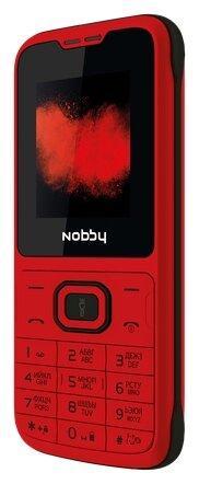 Nobby Мобильный телефон Nobby 110 красно-черный