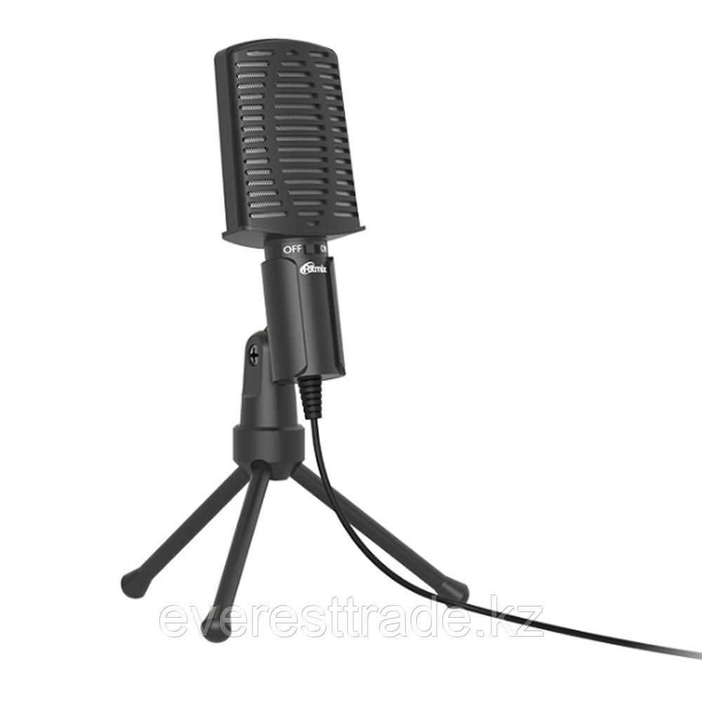 RITMIX Микрофон Ritmix RDM-125 черный