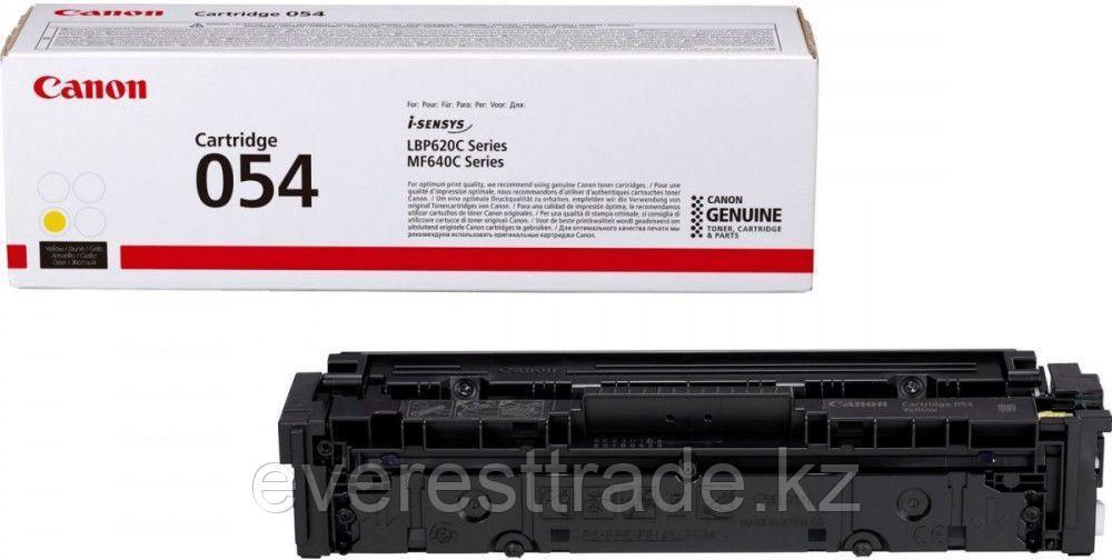 Canon Картридж Canon 054 Y для LBP62х/MF64x желтый 3021C002