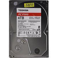 "Toshiba Жесткий диск HDD 4000 Gb TOSHIBA HDWD240UZSVA P300, 3.5"", 128Mb, 5400rpm"