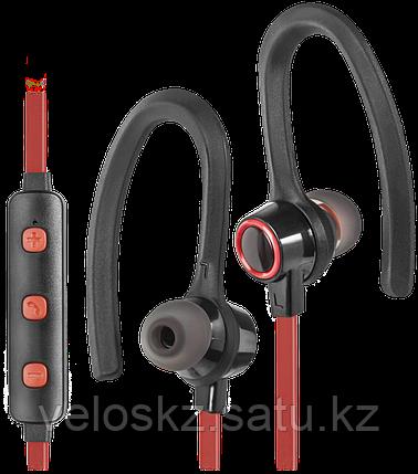 Defender Наушники беспроводные Defender OutFit B720 черный+красный, Bluetooth, фото 2