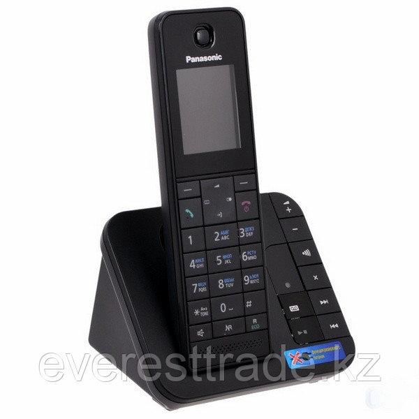 Panasonic Телефон беспроводной Panasonic KX-TGH220RUB Черный