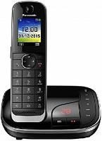 Panasonic Телефон беспроводной Panasonic KX-TGJ320RUB Черно-серый