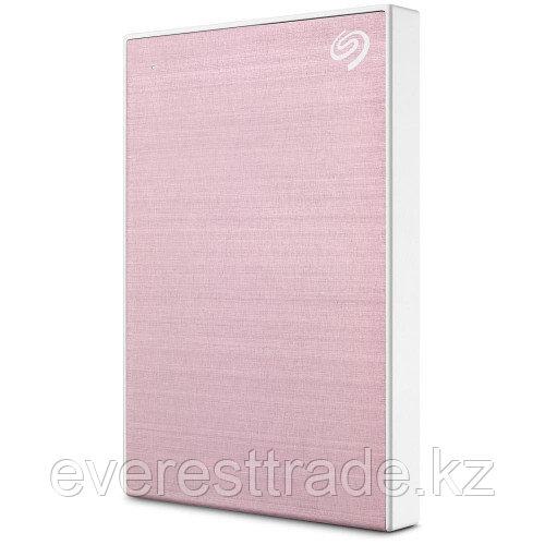 Seagate Жесткий диск внешний 2,5 2TB Seagate Backup Plus SlimPortable STHN2000405 Rose Gold metal design