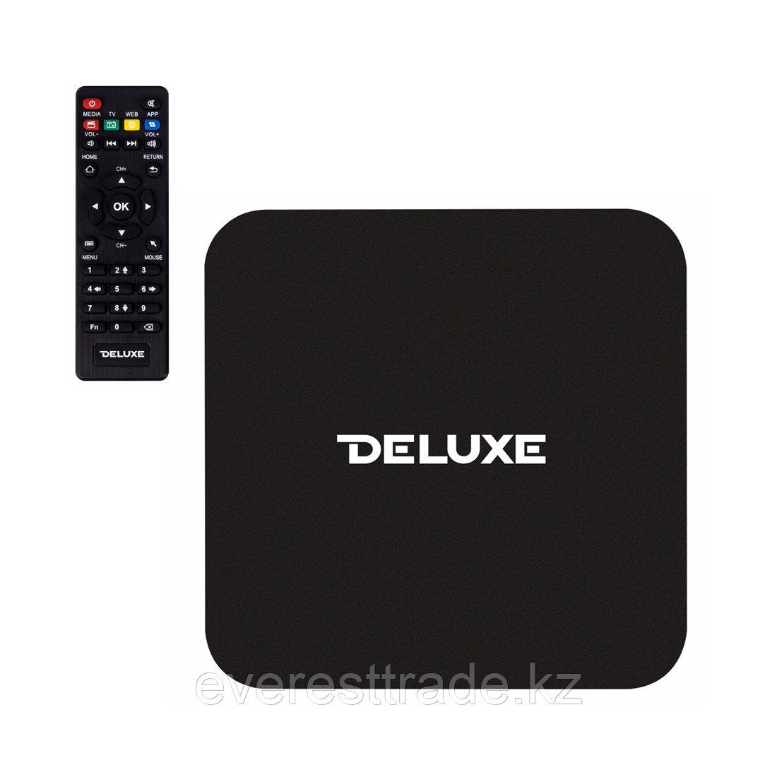Delux Цифровой телевизионный приемник Deluxe V1Pro смарт приставка Wi-Fi