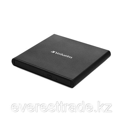 Verbatim Внешний привод Verbatim CD/DVD 98938 Slim USB Чёрный, фото 2