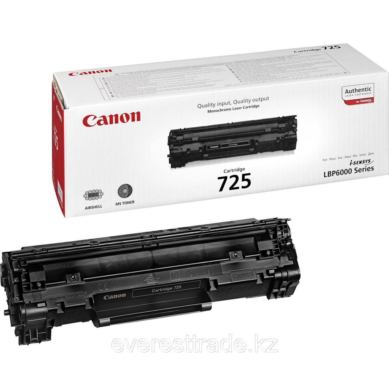Canon Картридж Canon CRG 725 для MF3010 LBP6030