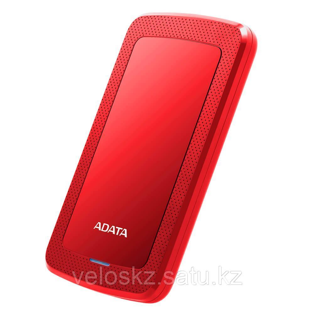 Adata Жесткий диск внешний 2,5 2TB Adata AHV300-2TU31-CRD красный
