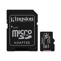 Kingston Карта памяти MicroSD 128GB Class 10 UHS-I A1 C10 Kingston SDCS2/128GB