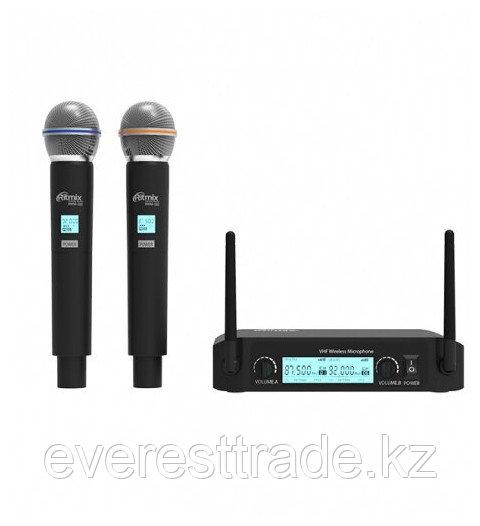 RITMIX Микрофон RITMIX RWM-222 беспроводной