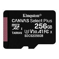Kingston Карта памяти MicroSD 256GB Class 10 UHS-I Kingston SDCS2/256GBSP