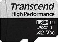 Transcend Карта памяти MicroSD 64GB Class 10 U3 A2 Transcend TS64GUSD330S