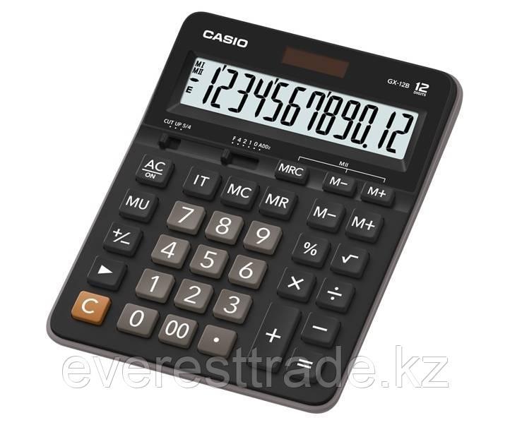 Casio Калькулятор CASIO GX-12B-W-EC настольный
