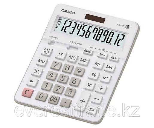 Casio Калькулятор CASIO GX-12B-WE-W-EC настольный, фото 2