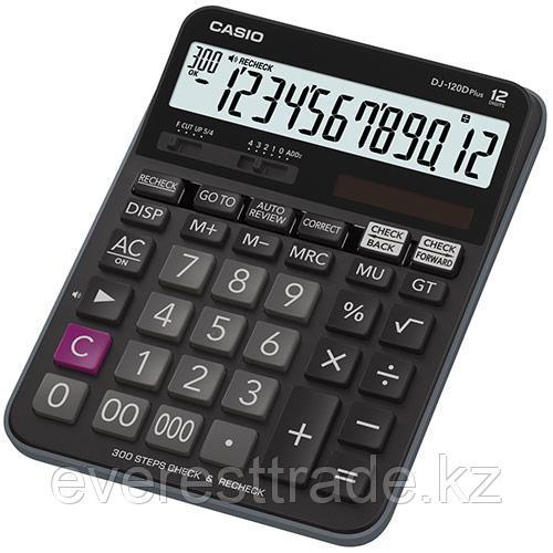 Casio Калькулятор CASIO DJ-120DPLUS-W-EP настольный