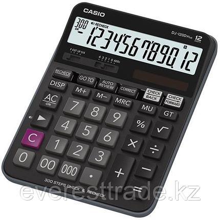Casio Калькулятор CASIO DJ-120DPLUS-W-EP настольный, фото 2