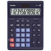 Casio Калькулятор CASIO GR-12-BU-W-EP настольный синий