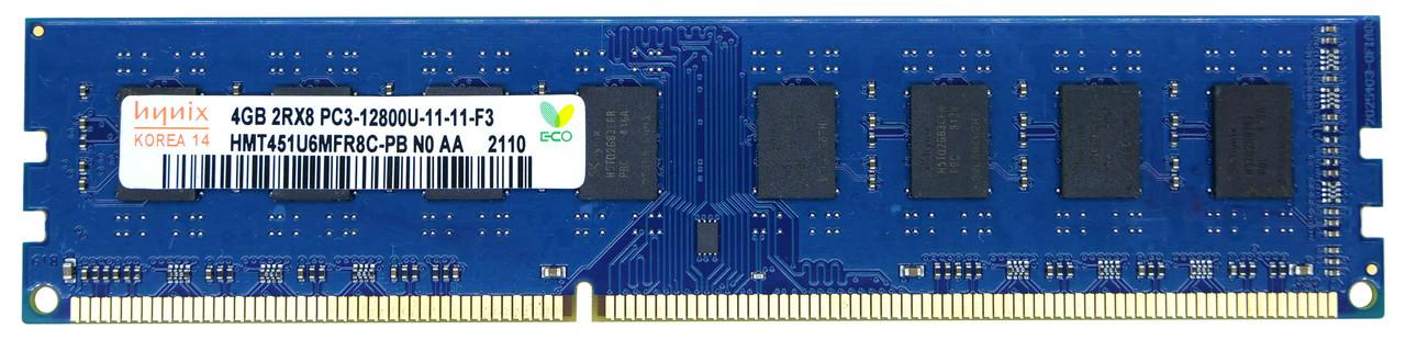 Оперативная память DIMM SK Hynix PC3-12800 DDR3 4GB 1600MHz