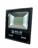 Прожектор светодиод. 100W 6500K IP65 (66) ELS