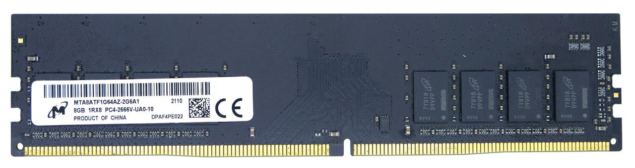 Оперативная память DIMM Micron DDR4 8GB