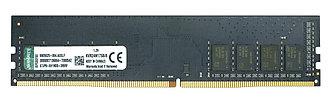 Оперативная память DIMM DDR4 8GB Kingston KVR24N17S8/8
