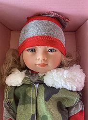 Кукла Мариэтта в хаки куртке/ 34 см/ (Carmen Gonzalez, Испания