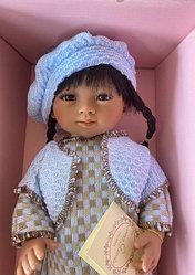Кукла Мариэтта в вязаном костюме / 34 см (Carmen Gonzalez, Испания)