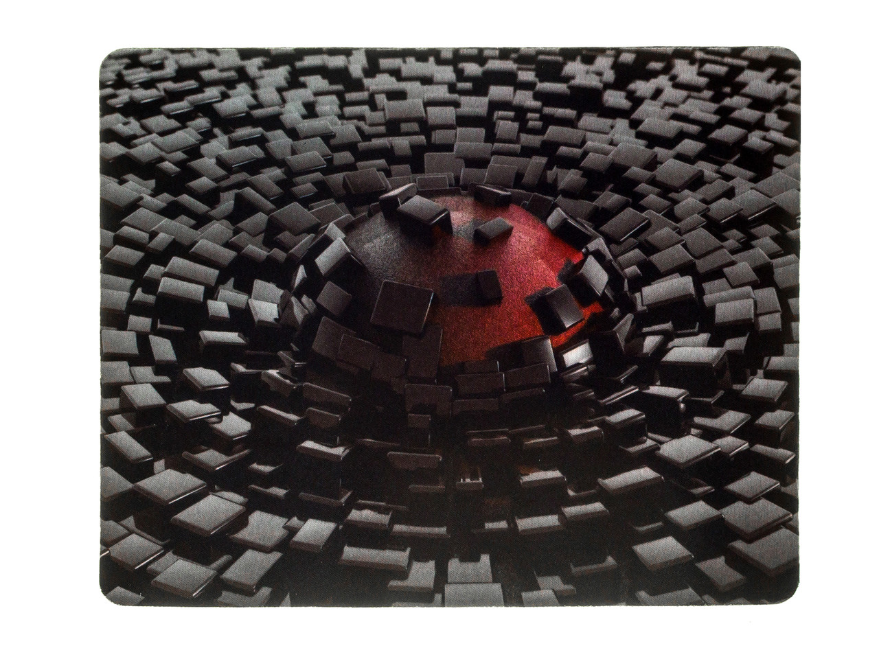 Коврик для мыши Oklick OK-F02821 Pad for mouse OK-F0281, 225x280x3mm