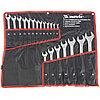 Набор ключей комбинированных 6-32 мм, 20 шт, CrV, полированный хром Matrix