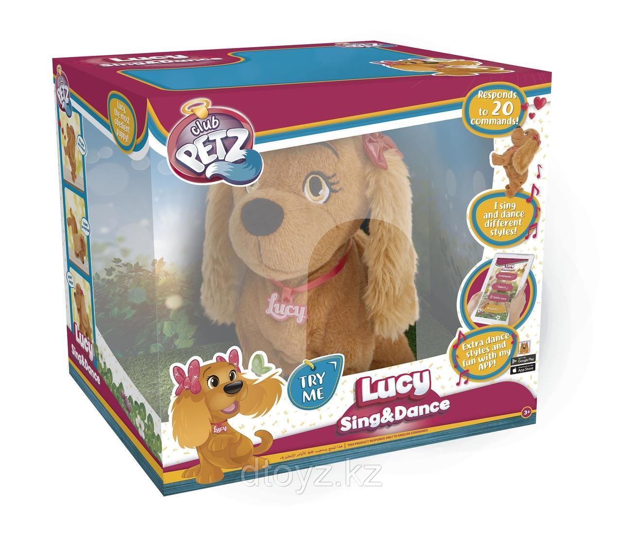Интерактивная мягкая игрушка IMC Toys Club petz Собака Lucy 95854