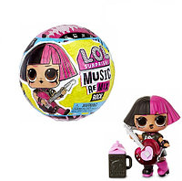 Кукла ЛОЛ Ремикс Рок- Кукла little LOL sisters Surprise Music Remix Rock