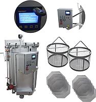Автоклав (для консервирования, промышленный, вертикальный, паровой, с регистратором) ИПКС-128-500ПРг
