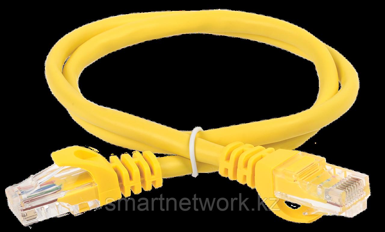 Коммутационный шнур кат. 5Е UTP LSZH 1м