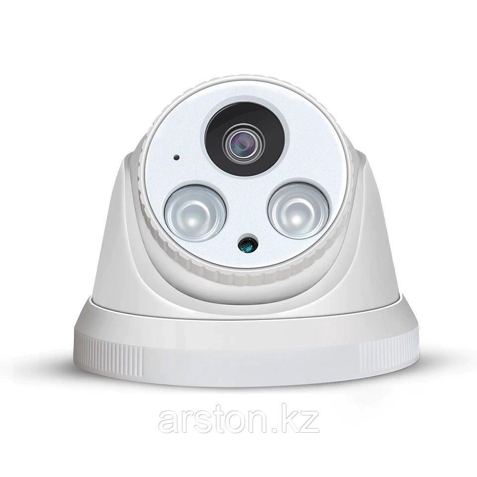 Купольная камера металл 2МР 2.8мм