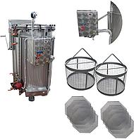 Автоклав (для консервирования, электрический, из нержавеющей стали) ИПКС-128-500(Н)
