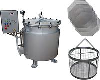Автоклав (для консервирования, промышленный, вертикальный, паровой) ИПКС-128-500-1П