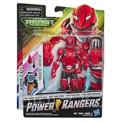 Hasbro Power Rangers Красный Рейнджер с боевым ключом E6029