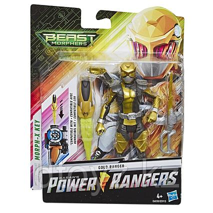 Hasbro Power Rangers Золотой Рейнджер с боевым ключом E6030