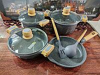 Набор каменной посуды MGC 9 предметов