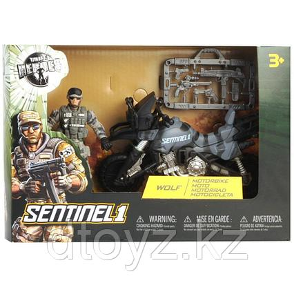 Sentinel 1 True Heroes Soldier Wolf & Motobike