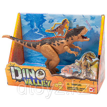 Chap Mei Dino Valley Карнотавр подвижная