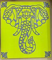 """Панно """"Слон"""" (70*50 см)"""