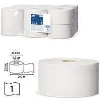 Туалетная бумага TORK в мини рулонах 1сл. 200м Universal Т2 белая 120197 | ЭССИТИ ООО, 20%