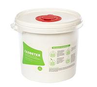 Диспенсерная система РАСТЕР 3,8 л (ведро/емкость+салфетки сух.) | АВ-Групп ООО, 20%